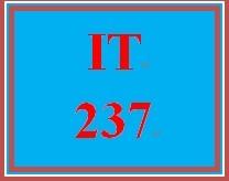 IT 237 Week 9 Refine Your Site