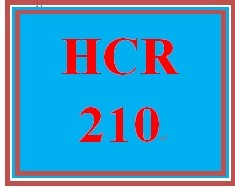 HCR 210 Week 4 Patient Reports