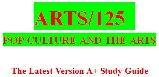 ARTS 125 Week 5 Art and Culture Paper