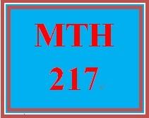 MTH 217 Week 2 Grit