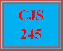 CJS 245 Week 4 Juvenile Offender Assignment