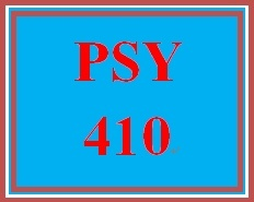 PSY 410 Week 4 Treatment of Personality Disorders Debate
