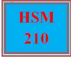 HSM 210 Week 5 Critical Thinking