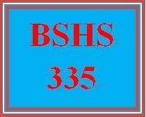 BSHS 335 Week 3 Boundaries Issues