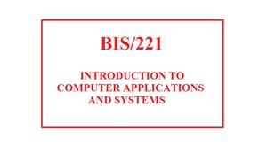 BIS 221 Week 5 Social Media and Networking Presentation