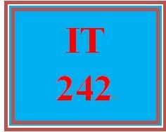 IT 242 Week 6 Toolwire ® Lab