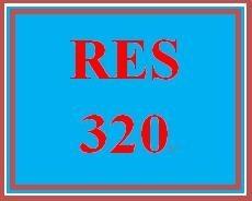 RES 320 Week 3 Experimentation Critique