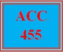 ACC 455 Week 2 MyAccountingLab, Week 2