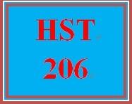 HST 206 Entire Course