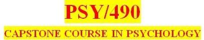 PSY 490 Week 4 Quiz