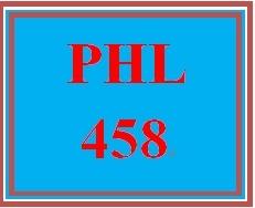 PHL 458 Week 4 Famous Creative Thinkers Presentation