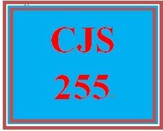 CJS 255 Week 4 Prison Life Presentation