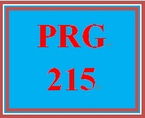 PRG 215 Week 3 Individual Conversion Program Updates