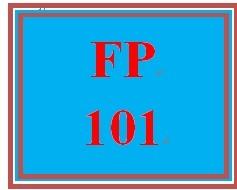 FP 101 Week 7 Retirement Planning Worksheet