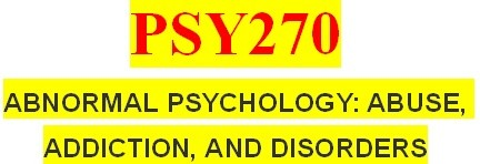 PSY270 All Weeks Assignments
