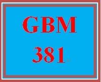 GBM 381 Week 4 China's Pegged Currency