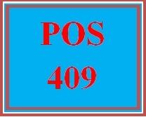 POS 409 Week 5 Individual: Input Validation