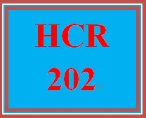 HCR 202 Week 4 Characteristics of Workers' Compensation Plans