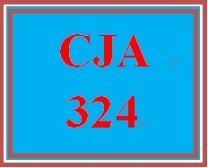 CJA 324 Week 5 Ethics Examples Assignment