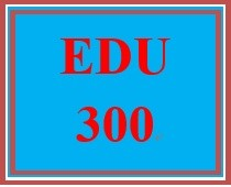 EDU 300 Discussion Question on Conceptual Framework