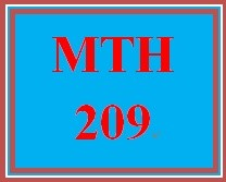 MTH 209 Week 2 Checkpoin