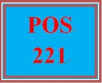 POS 221 Entire Course