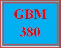 GBM 380 Week 4 Building Global Skills Exercise.