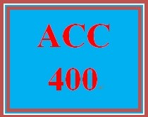 ACC 400 Week 1 Financial Accounting Versus Managerial Accounting