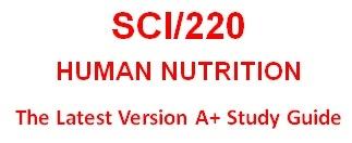 SCI 220 Week 1 WileyPLUS® Week 1 Quiz