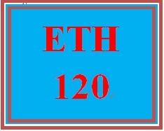 ETH 120 Week 1 Stereotype Worksheet