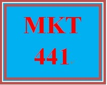 MKT 441 Week 3 Market Research Implementation Plan Research Design