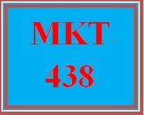 MKT 438 Week 2 Learning Team Charter