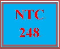 NTC 248 Week 4 Individual: Wide Area Networks (WANs)