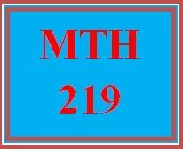 MTH 219 Week 4 Videos