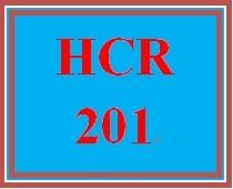 HCR 201 Week 5 Signature Assignment: Comprehensive Coding Worksheet