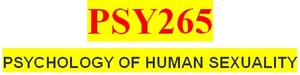 Entire PSY265 Course