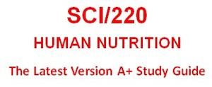 """SCI 220 Week 1 Toolwire GameScape Episode 1: """"Nutrition – A Key to Health"""""""