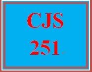 CJS 251 Week 3 Plea Bargaining Paper