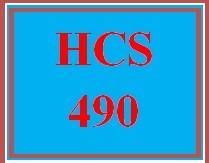HCS 490 Week 1 Changing Landscape of Health Care