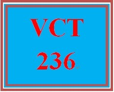 VCT 236 Week 4 Individual Finalized Banner