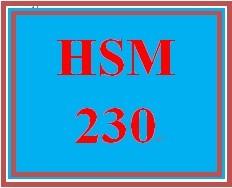 HSM 230 Week 3 Leadership Styles Case Study