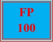 FP 100 Week 1 Economic Concepts Worksheet