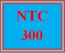 NTC 300 Week 1 Individual Your Own Cloud