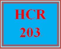 HCR 203 Week 4 Ch. 14 Online Quiz