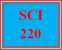 SCI 220 Week 5 Food Safety