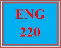 ENG 220 Week 5 Comparison-Contrast Essay Final Paper and Presentation