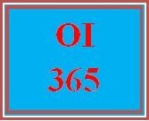 OI 365 Week 2 KM and IC Analysis Presentation