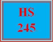 HS 245 Week 1 Plagiarism Tutorial Summary