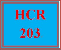 HCR 203 Week 1 Build Your Resume for Success