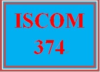 ISCOM 374 Week 1 Consider Technology